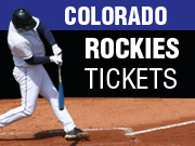 Colorado Rockies Tickets in Denver CO
