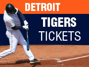 Detroit Tigers Tickets in Detroit MI