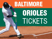 Baltimore Orioles Tickets in Baltimore MD