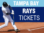 Tampa Bay Rays Tickets in Tampa FL